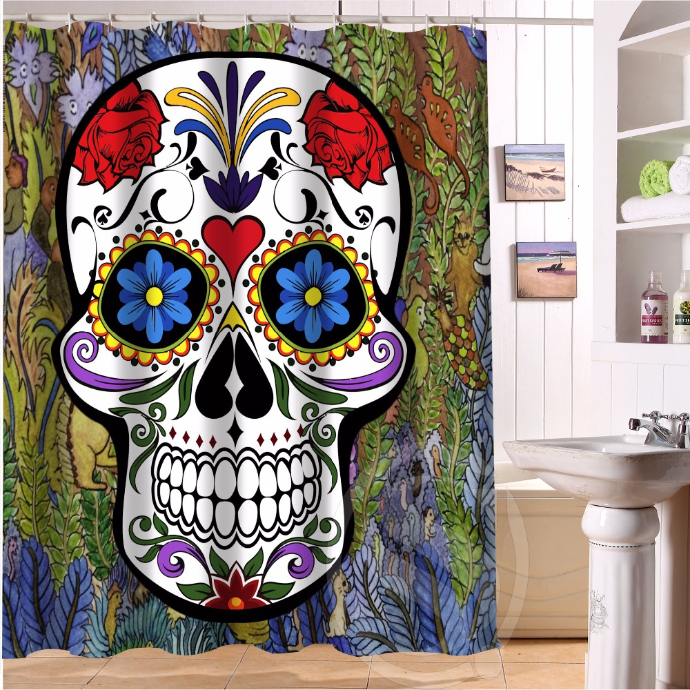 Skull Bedroom Curtains Online Get Cheap 98 Curtains Aliexpresscom Alibaba Group