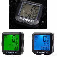 Waterproof Bicycle Computer Wireless And Wired MTB Bike Cycling Odometer Stopwatch Speedometer Watch LED Digital Rate