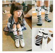 2016 Cotton Baby Socks Newborn Animal Baby Girls Socks for Kids Cartoon Bear Baby Knee High Children Socks