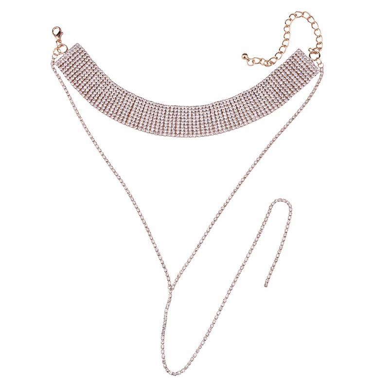 HTB1ILTsOpXXXXaJXVXXq6xXFXXXw Crystal Rhinestone Choker Necklace – Various Styles