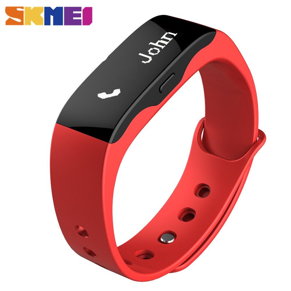 Prix pour CHAUDE Smart Watch SKMEI Hommes Mode Sport Montre Femmes L28t Conditionnement Physique En Plein Air Montres LED Affichage Appel Rappel Numérique Montres