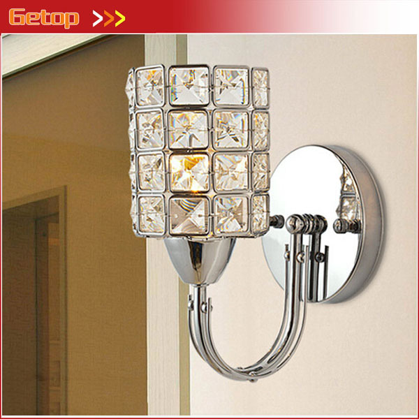 Best Price Modern Crystal Wall Lamps E14 LED Crystal Wall Light Bedside lamps Living room Bedroom Corridor Lights Home Lightings m best price new modern crystal hanging lamps creative crystal pendant lamp luxury bedroom living room led ceiiling light