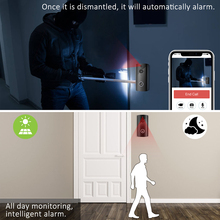 Video Doorbell, WiFi Smart Wireless Intercom Doorbell, Security Home Camera Real-Time Video and Two-Way Talk, Night Vision