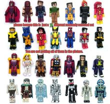 Random Select Lot van 10 Minimates Marvel X-Mannen DC LOTOR Spiderman Ironman Wolverine Action Figure Bloks Building Toy pop(China)