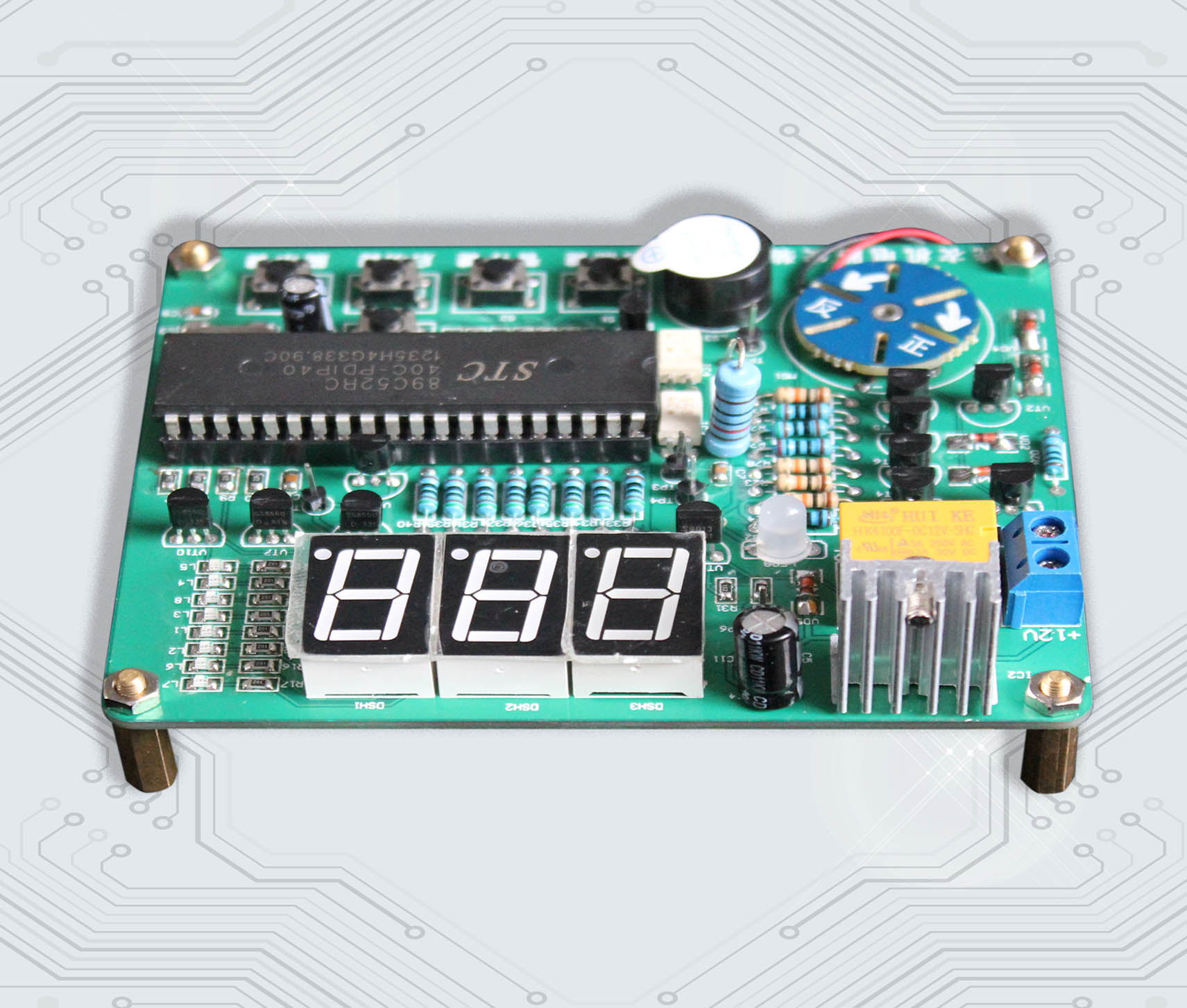 Analogue Washing Machine Electronic Assembly Kit Electronic Product Assembly Guide Book ...
