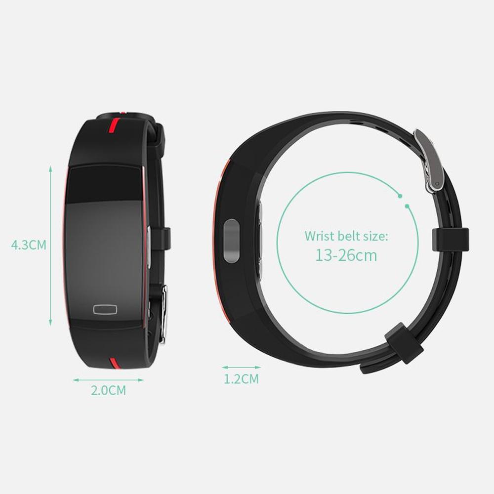 Hangrui P3 Heart Rate Tracker PPG ECG Smart Bracelet Blood Pressure Fitness Tracker Wristband Waterproof Sport Watch Wrist band (11)