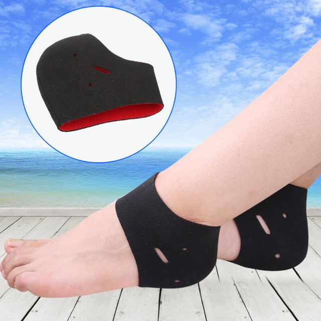 1 Par Novo salto do sapato protetor de calcanhar silicone luva protetora  aliviar a aliviar a 9381b2f2549b0