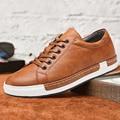 Мужская обувь  повседневная обувь из дышащей искусственной кожи с нескользящей подошвой  566  2019