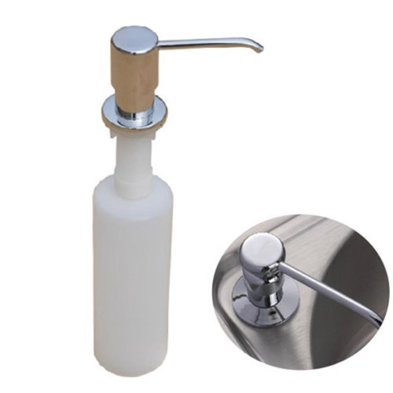 300ml Kitchen Sink Liquid Detergent Shampoo Soap Dispenser