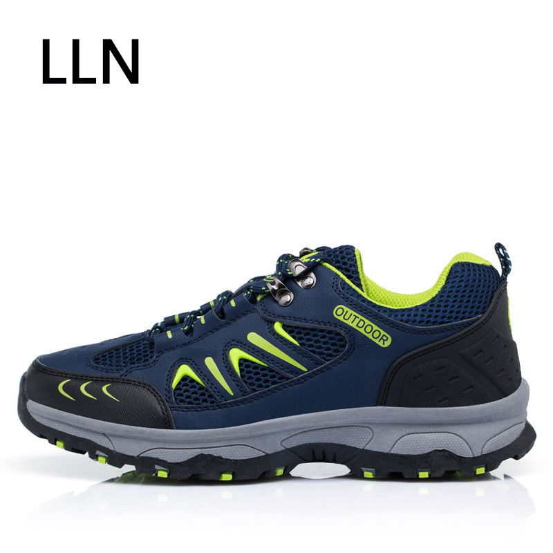 2019 Brand Men Hiking Shoes Suede Climbing Boots Breathable Outdoor Sports Trekking Sneakers