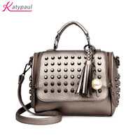 Luxury Handbags Women Bags Designer Handbags High Quality PU Leather Bag Famous Brand Retro Shoulder Bag