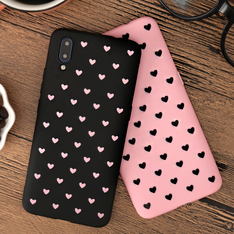 Love Heart Print <font><b>Back</b></font> <font><b>Cover</b></font> For <font><b>Oppo</b></font> A71 A73 A73s A75 A77 A79 A7X A33 A37 A53 <font><b>A57</b></font> A39 A59 A83 A1 F11 F3Plus F5 F7 F9 Pro K1 Case image