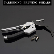 купить Hot Sale Garden Pruning Shear High Carbon SK-5 Steel Labor Saving Scissors Gardening Plant Scissor Branch Pruner Trimmer Tools в интернет-магазине