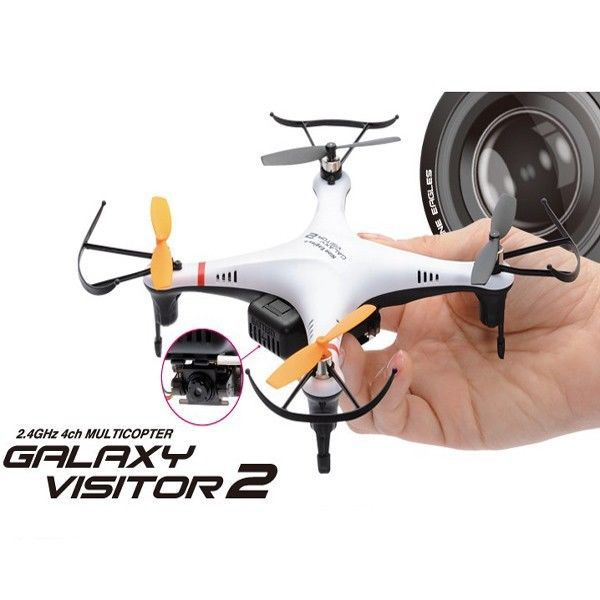 Nine Eagles 2.4GHz 4CH Galaxy Visitor 2 RC Quadcopter With Camera Elicopter New