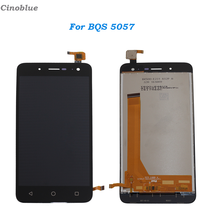 For BQ BQS 5057 Strike 2 LCD Display Touch Screen Digitizer Assembly For BQ-5057 Display Phone Parts with Tools