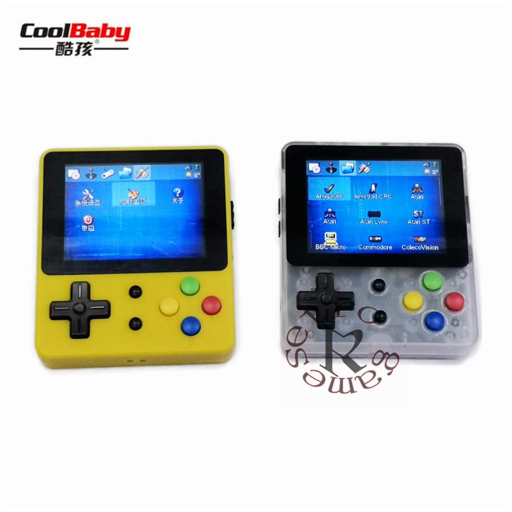 Portable Spielkonsolen Opendingux Open Source Konsole Ldk Spiel 2,6 Zoll Bildschirm Mini Handheld Kinder Und Familie Retro Spiele Konsole