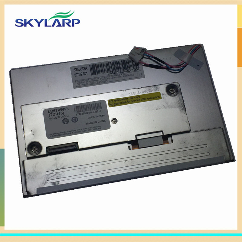 GPS LCD screen LB070WV1 display panel