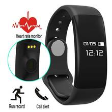 2016 New Sport Heart Rate Monitor Smart Band Pedometer Tracking Calorie Health Rate Smart band Sleep Monitor Call Reminder H30