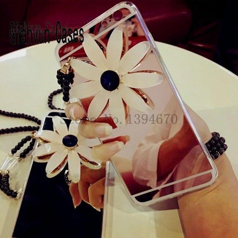 Daisy Design металлический трос Цепочки и ожерелья Зеркало задняя крышка для Samsung Galaxy J1 Ace J2 J210 J3 J5 J7 j510 j710 2016 Телефон Чехол
