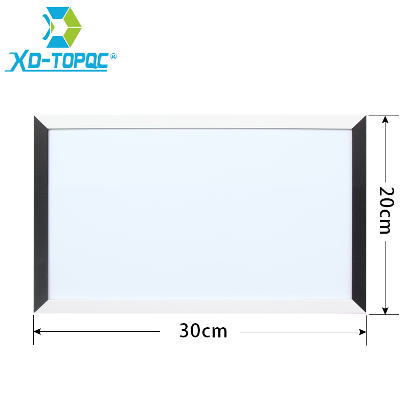 XINDI New Magnetic Whiteboard 20*30cm White Board MDF Black & White Frame Wooden Dry Erase Message Board With Free Shipping WB06