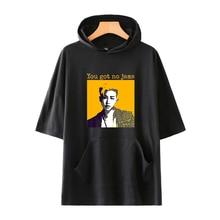 hot deal buy harajuku luckyfridayf kpop 2018 bts love yourself print short sleeve hoodies sweatshirts women/men hip hop hoodies clothes 4xl