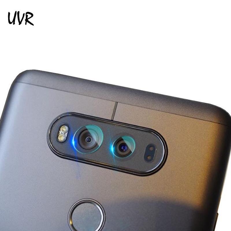 UVR 2PCS Flexible Rear Transparent Back Camera Lens Tempered Glass Film Protector For LG V20 F800K F800L H910 Cameral Lens Film
