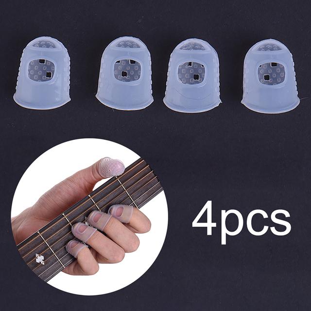 Guitar Fingertip Protectors 4 pcs/Set