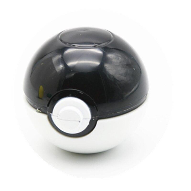 NEW Herb Grinder Pokeball Pikachu Pokemon Tobacco Grinder with Narguile smoking weed Gift box Black