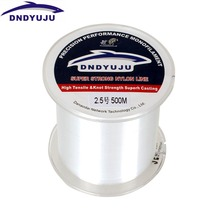 DNDYUJU 100M Fishing Line Strong Fluorocarbon Fishing Lines Monofilament Nylon Freshwater Saltwater Sink Fish line Accessories
