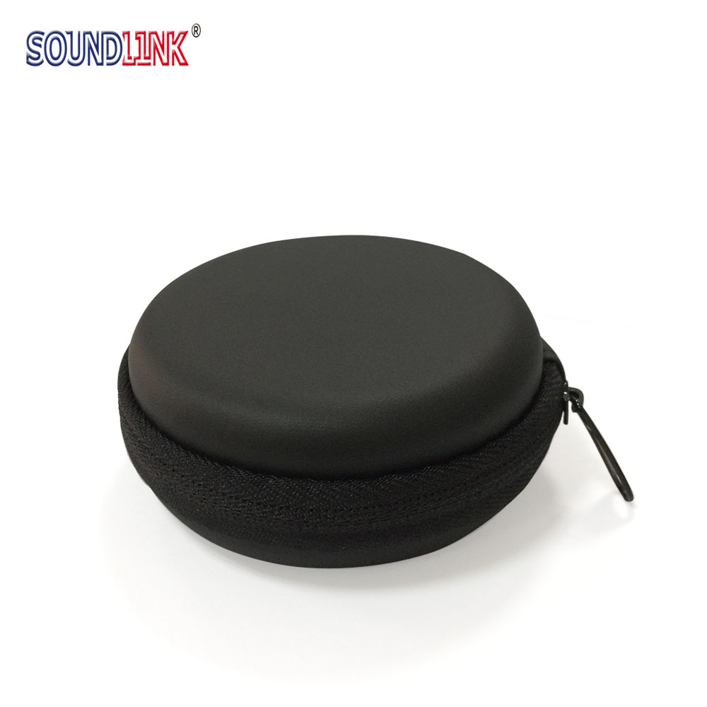 EVA Hearing Aid Earphone Storage Case Holder Carrying Bag Box Invisible Zipper