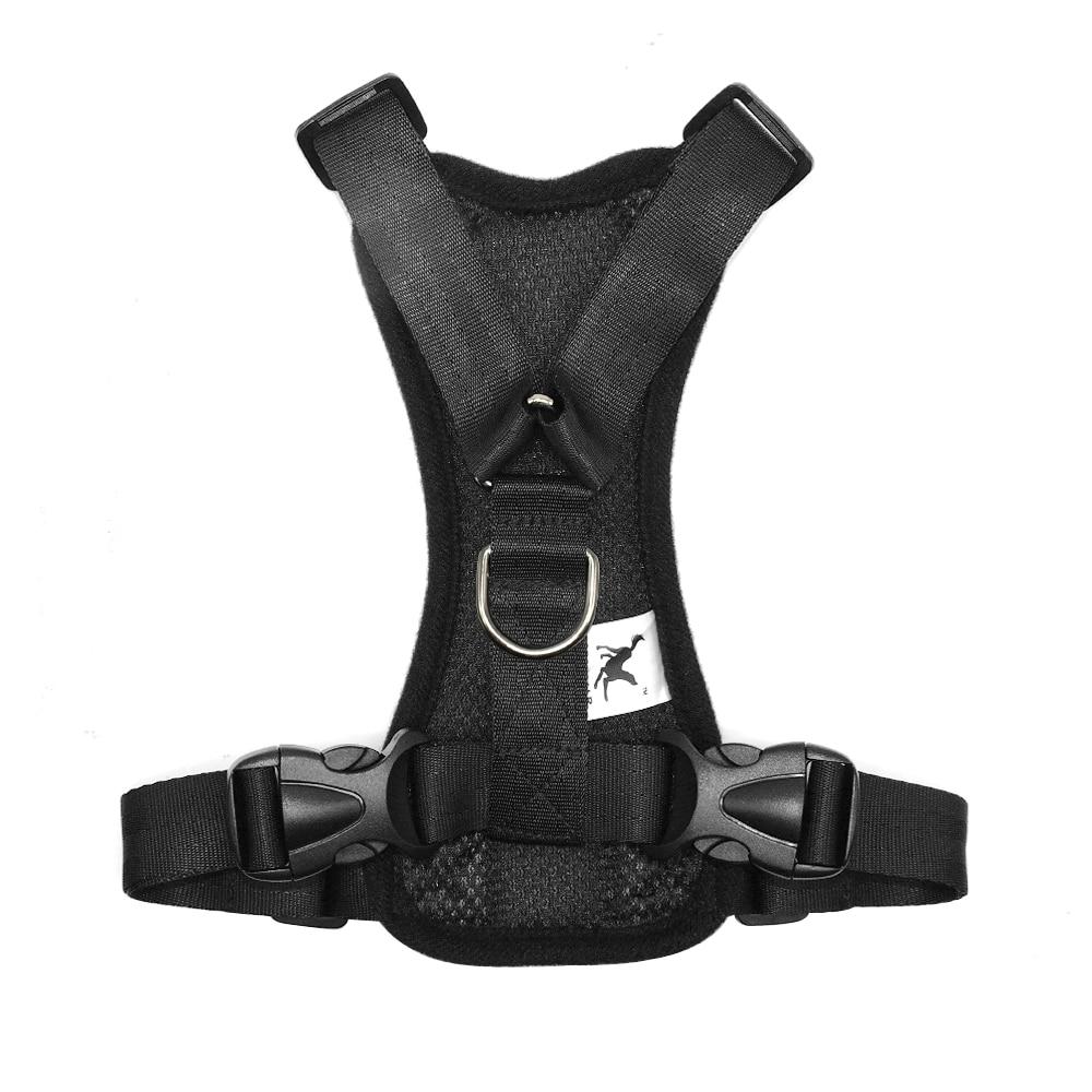 Nylon Dog Car Seat Belt Mesh Pet Dogs Safety Car Harness Soft Padded Vest Vehicle Seatbelt Lead Leash For Medium Large 11