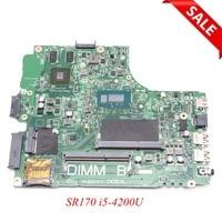 CN 0YFVC4 0YFVC4 YFVC4 Laptop Motherboard For Dell Inspiron 3437 5437 SR170 i5 4200U CPU onboard DOE40 HSW VF0MH GeForce 720M