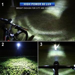 Image 5 - إضاءة دراجة هوائية كهربائية 3 واط مقاوم للماء والصدمات المصباح 60 لوكس DC6V   80 فولت الألومنيوم الإسكان LED ebike ضوء E24 شهادة