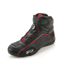 ARCX Cow Leather Motorcycle Road Racing Shoes Street Moto Cruiser Touring Biker Motorbike Riding Boots with