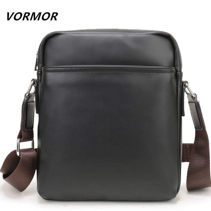 VORMOR Brand New Uomini di Modo di Arrivo Crossbody Borsa Business Casual Uomo In Pelle Messenger Shoulder Bags