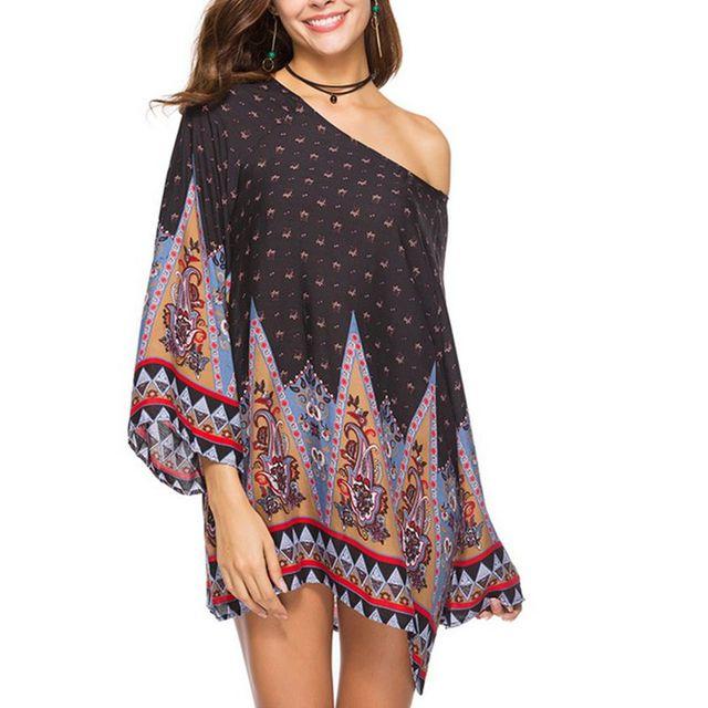Women Summer Boho Vintage Dress