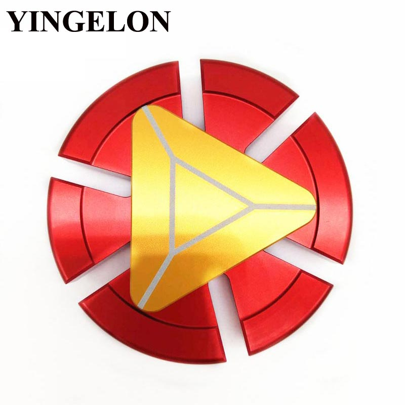 YINGELON Fidget Spinner Ceramic Finger Hand Spinners Anti Stress Fidget Toy Figet Spinners For Children Gifts Metal Copper