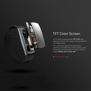 Image 4 - Letine Smart Bracelet Heart Rate Monitor Touch Color Screen Sports Fitness Tracker I6 PRO C Smart band IP67 2019 Wristband