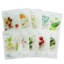 My Real Squeeze Mask 10pcs Face Mask Skin Care Whitening Fac