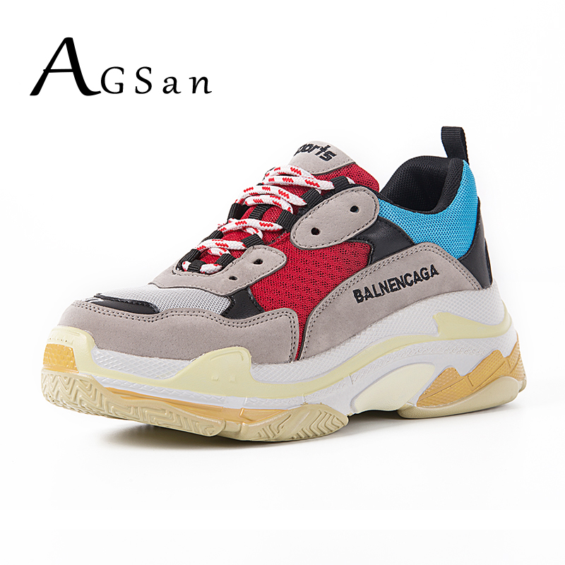 AGSan Breathable Men Casual Shoes Lace Up Trainers Height Increasing Couple Lovers Sneakers Comfortable Mens Sneakers Footwear men s shoes fashion breathable air cushion casual shoes men lace up red blue spring autumn walking jogging shoes mens trainers