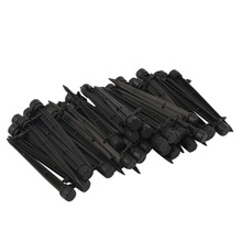 50 pcs 1/4″ Bubbler Drip Irrigation Adjustable Emitters Stake Water Dripper For micro-irrigation Garden flower beds