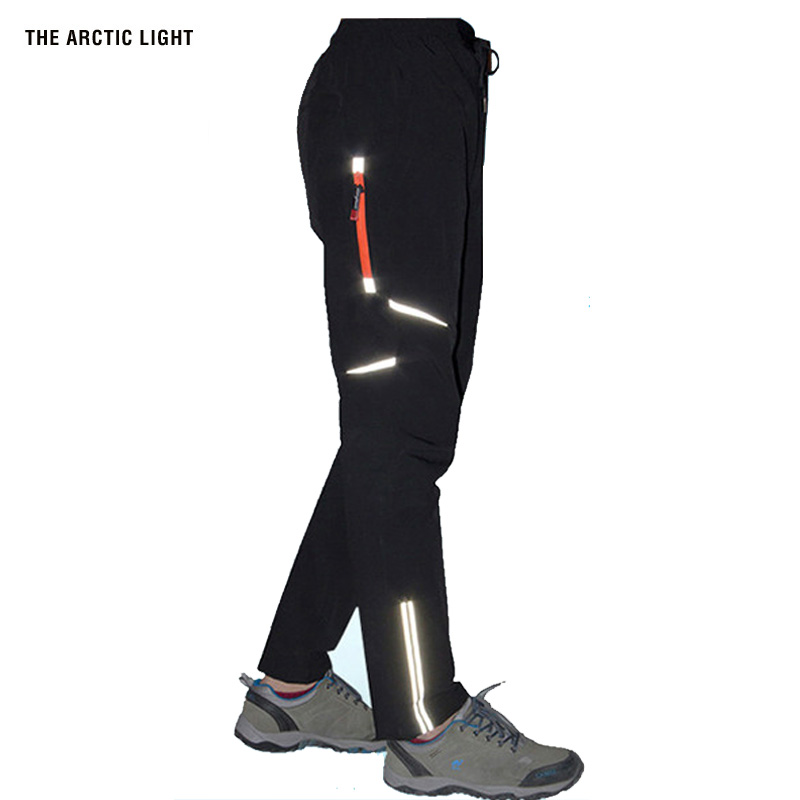 THE ARCTIC LIGHT Summer Quick Dry Pants Fluorescence Man Outdoor Trousers Men Breathable Thin Sports Windproof Mountain
