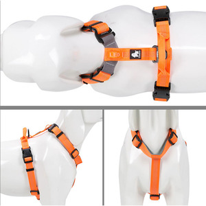 Image 4 - Truelove Neoprene Padded Dog Pet Body Harness With Handle Strap Security Belt Dog Chest Collar Pet Shop Dog Accessories Dropship