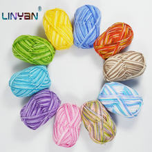 4 piece*50g Dyeing fancy yarn for knitting rabbit Hand-woven knit Hand scarf knitting dyed Milk cotton knitting yarn acrylic zl8(China)