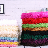 Turnip Strip Fur Faux Wool Plush Blanket Fabric 0 5meter Quality Artificial Leather Cloth Vest Fur