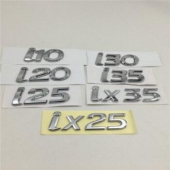 Voor Hyundai i10 i20 i25 i30 i35 ix25 ix35 Embleem Logo Kofferbak Staart Naambord Auto Stickers