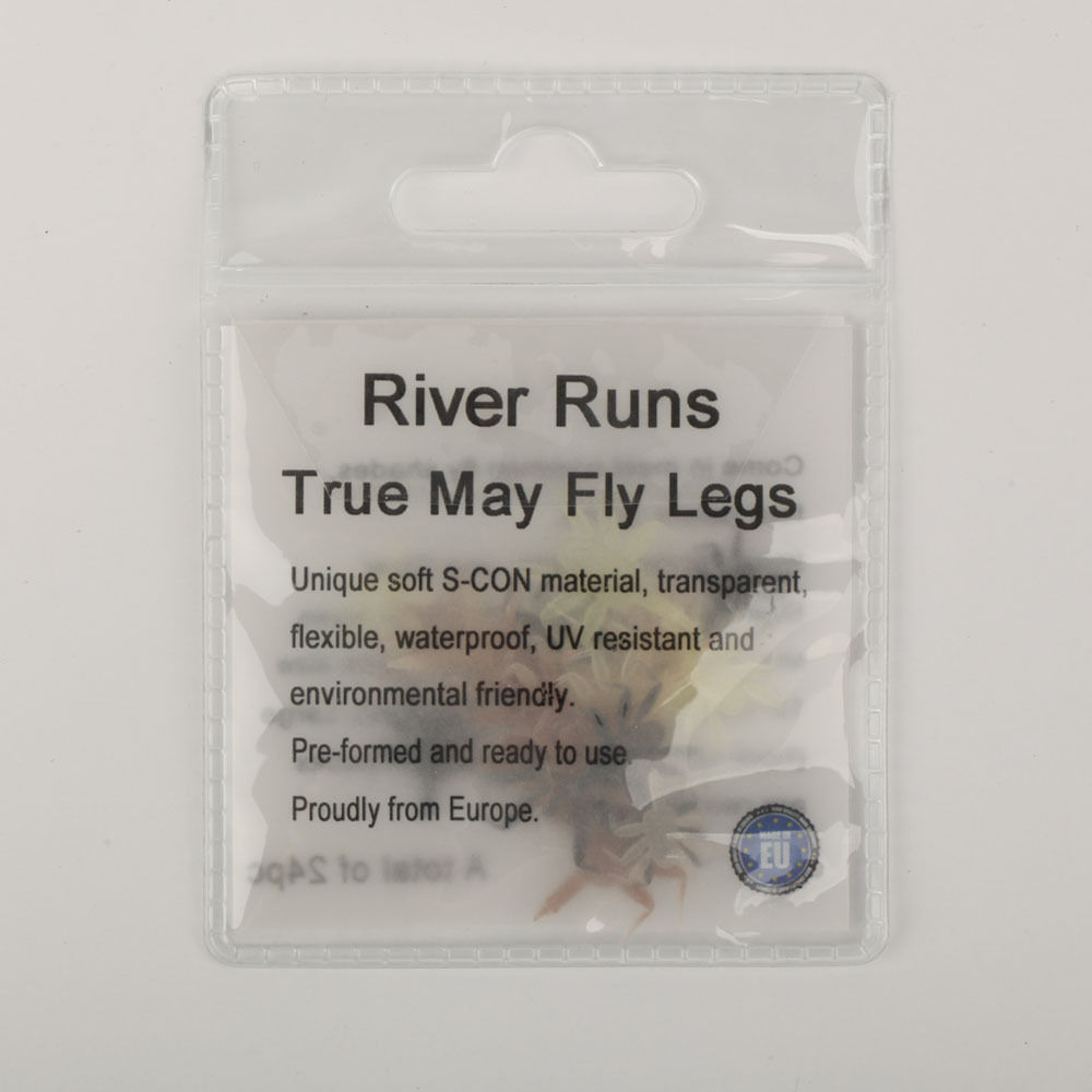 Riverruns Eight Most Used Color Super Stretch Floss Quality Fly Tying Material