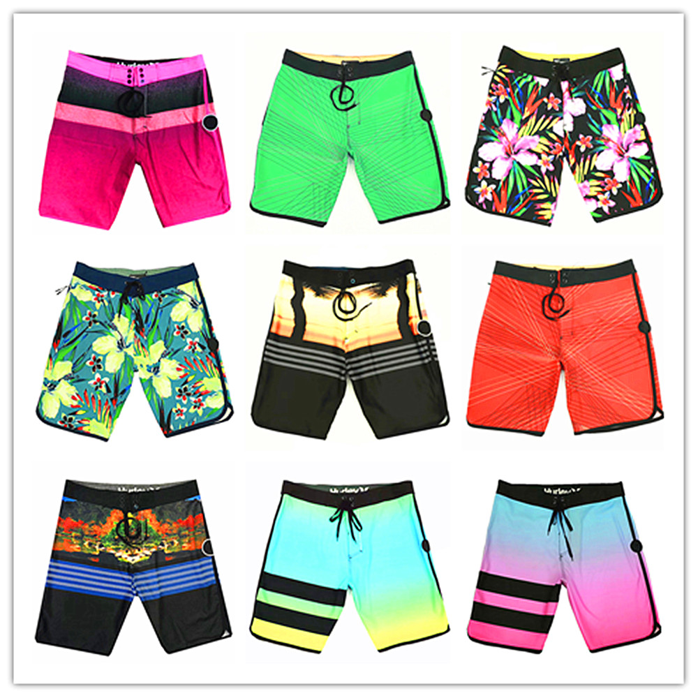 2019 Brand Phantom Elastic Men   Board     Shorts   Quick Dry Boardshorts Male Sexy Top Quality Swimwear Mens Bathing   Shorts   82 Colors