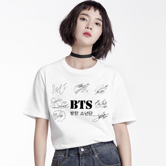 BTS Signature Casual T-shirt