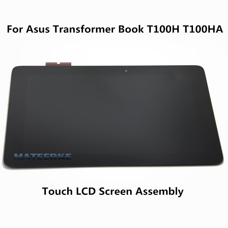 For Asus Transformer Book T100H T100HA Full LCD LED Display Touch Screen Assembly планшет asus transformer book t100ha